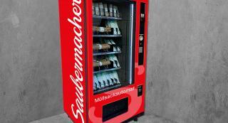 Müllsackautomat für Gemeinden von Saubermacher