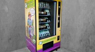 Müllsackautomat