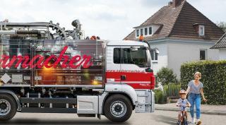 Saubermacher Tankreinigungs-LKW